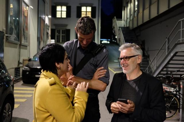 Die Gentrifizierung bin ich, Thomas Haemmerli, Premiere Zurich Film Festival, Discussion