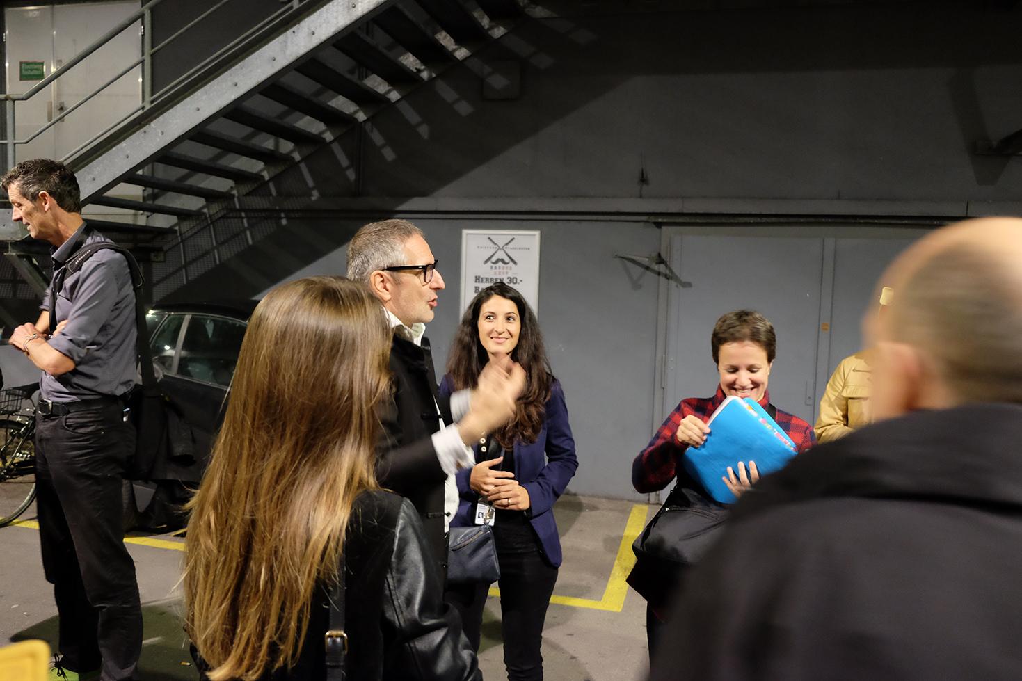 Die Gentrifizierung bin ich, Thomas Haemmerli, Premiere Zurich Film Festival, Rede