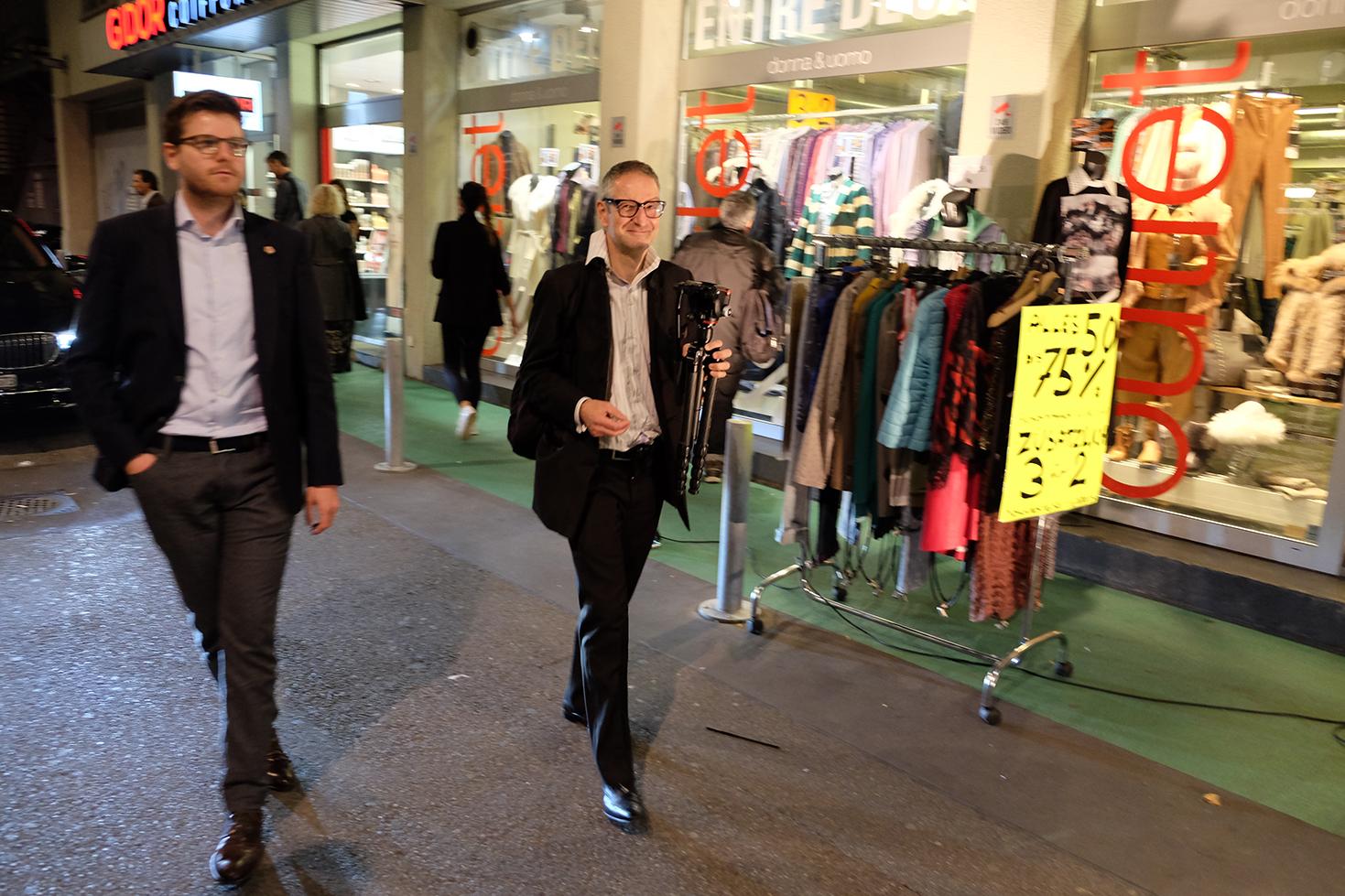 Die Gentrifizierung bin ich, Thomas Haemmerli, Premiere Zurich Film Festival, fertig