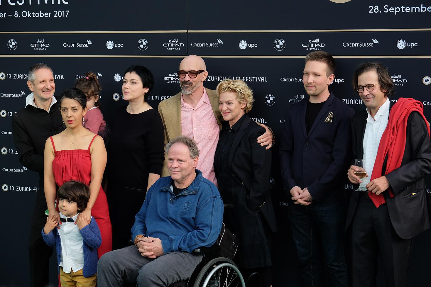 Die Gentrifizierung bin ich, Thomas Haemmerli, Premiere Zurich Film Festival Crew
