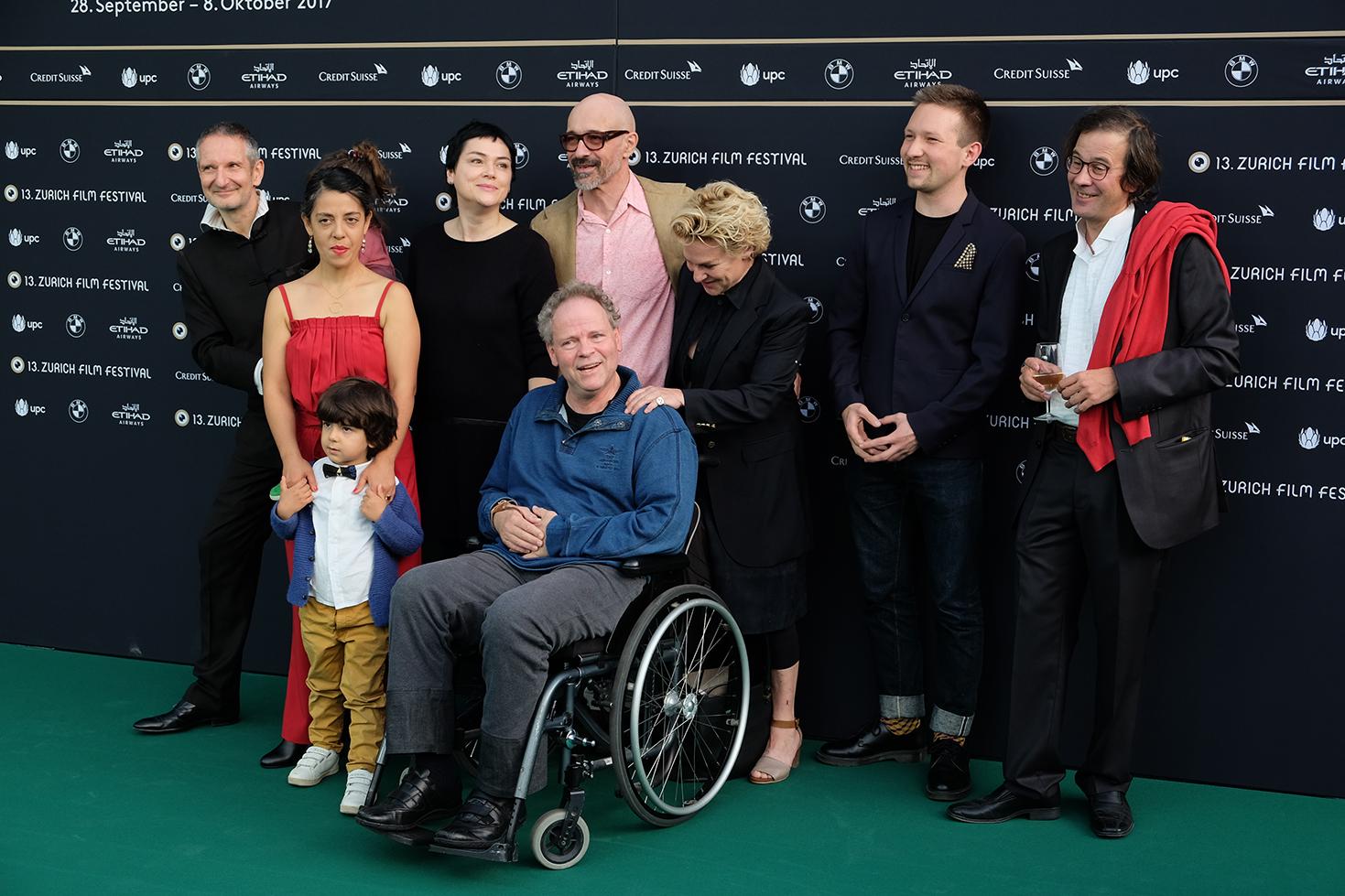 Die Gentrifizierung bin ich, Thomas Haemmerli, Premiere Zurich Film Festival Crew Familie