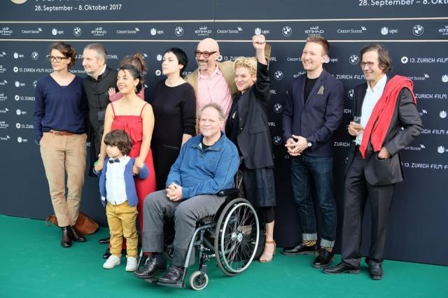 Die Gentrifizierung bin ich, Thomas Haemmerli, Premiere Zurich Film Festival cheer