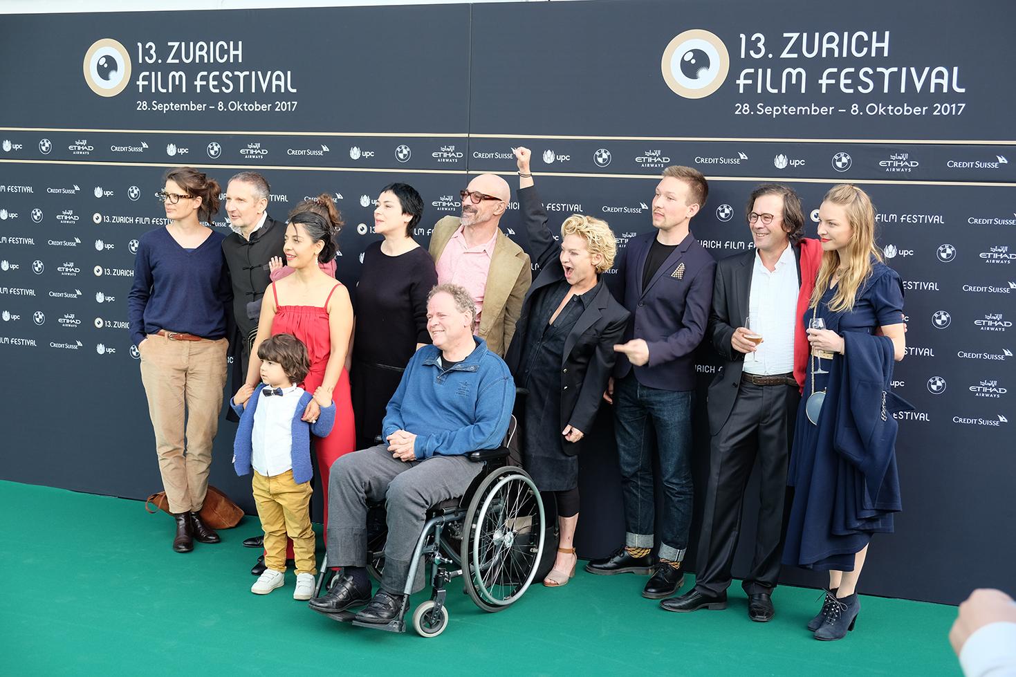 Die Gentrifizierung bin ich, Thomas Haemmerli, Premiere Zurich Film Festival Crew freude